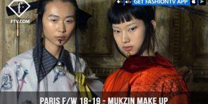 Mukzin Oriental and Minimal Make Up Paris Fashion Week Fall/Winter 2018-19 | FashionTV | FTV