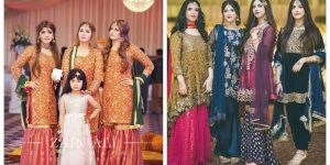 Beautifull & Stylish Designer Group Girls  Dresses Designs 2018 New Trendy Dress