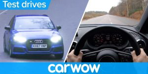 Audi S3 Sportback 2018 POV review – see how fast it launches! | Test Drives
