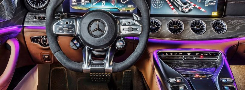 2019 Mercedes AMG GT 4-Door Coupe – INTERIOR