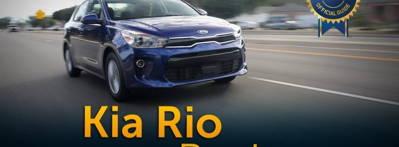 2018 Kia Rio – Review & Road Test