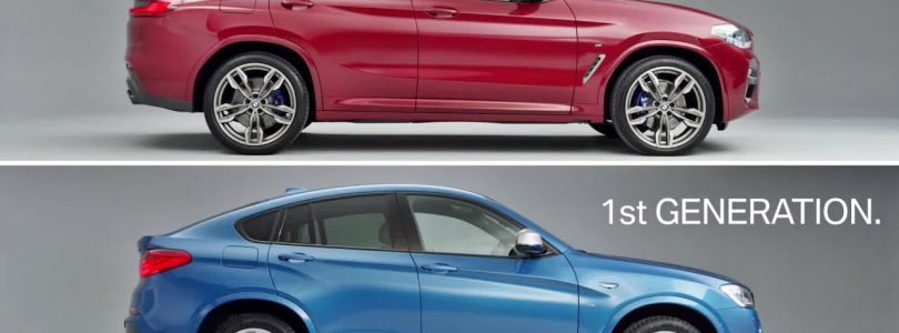 2018 BMW X4 – New vs Old!