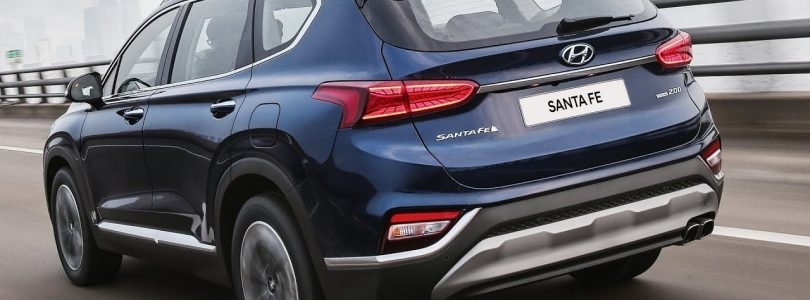 2019 Hyundai Santa FE – Features, interior Exterior