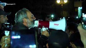Nikol Pashinyan's rally in Vanadzor